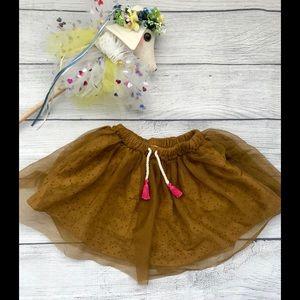 Zara Babygirl Boho Skirt